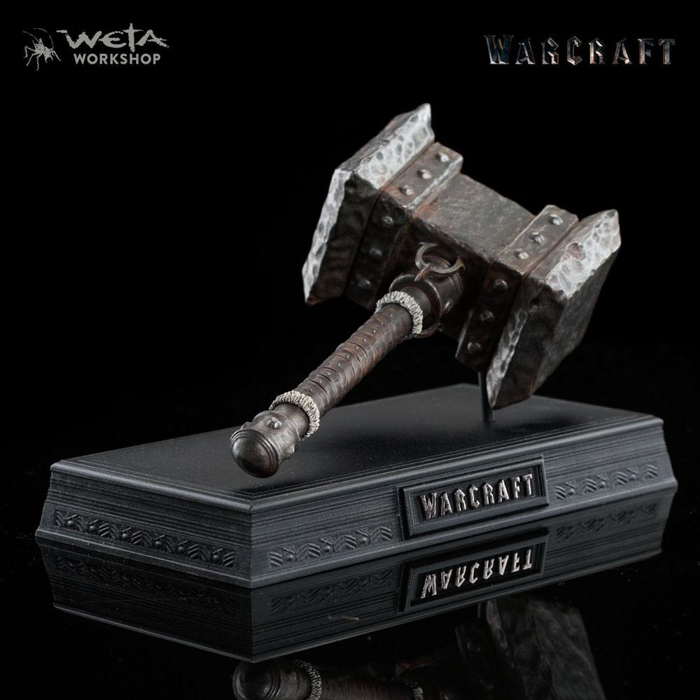 Warcraft Replica 1/6 Orgrim's Doomhammer 20 cm