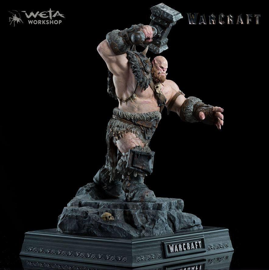 Warcraft Statue 1/10 Orgrim 33 cm