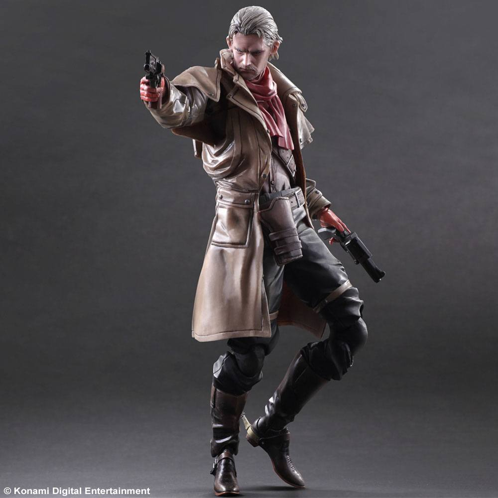 Metal Gear Solid V The Phantom Pain PlayArts Kai Action Figure Ocelot 28 cm