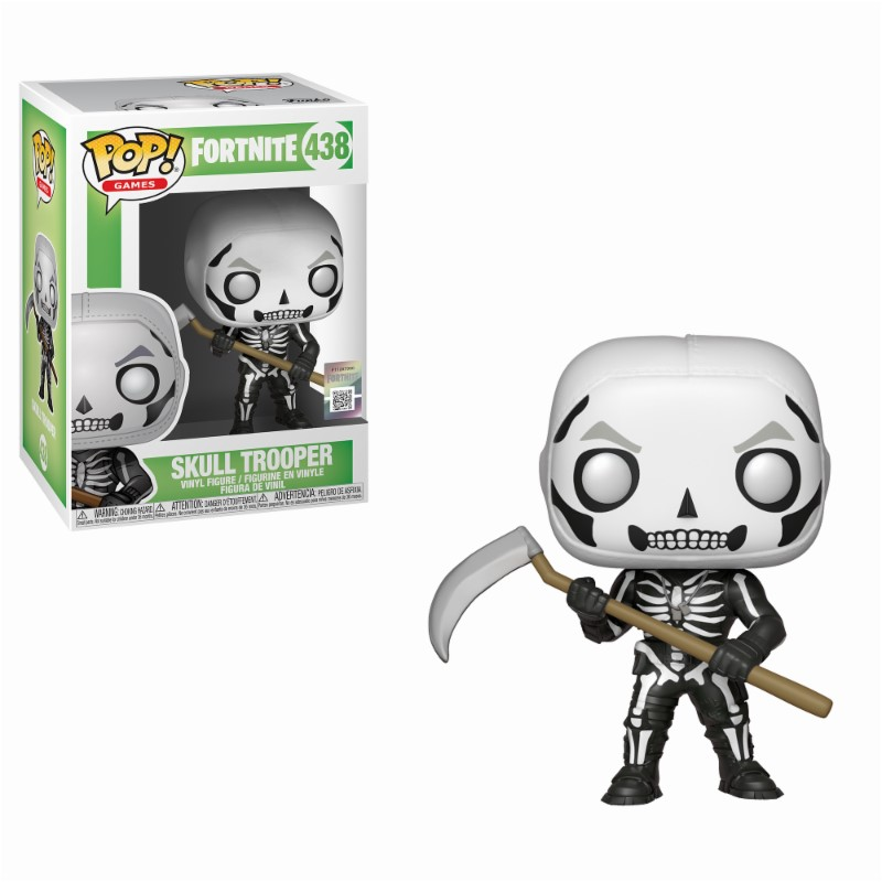 Pop! Games: Fortnite - Skull Trooper Vinyl Figure 10 cm