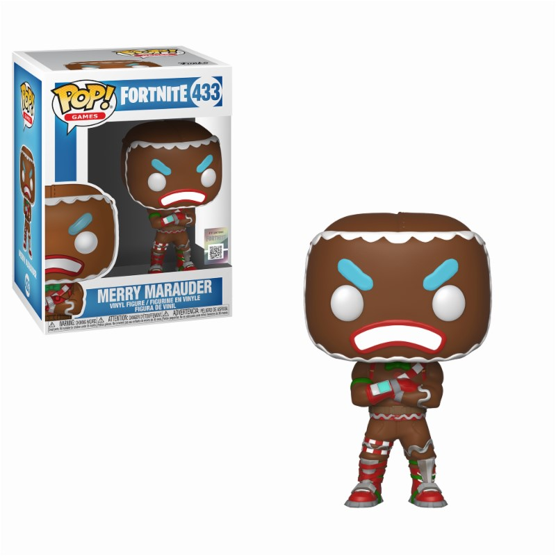 Pop! Games: Fortnite - Merry Marauder Vinyl Figure 10 cm