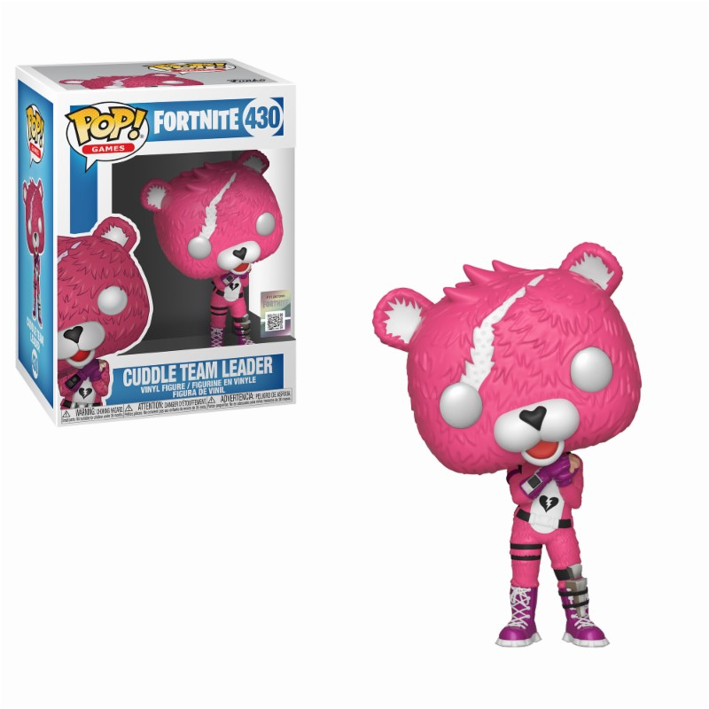 Pop! Games: Fortnite - Cuddle Team Leader Vinyl Figure 10 cm