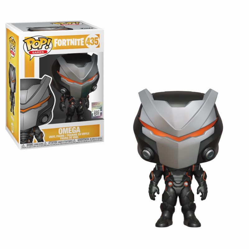 Pop! Games: Fortnite - Omega Vinyl Figure 10 cm