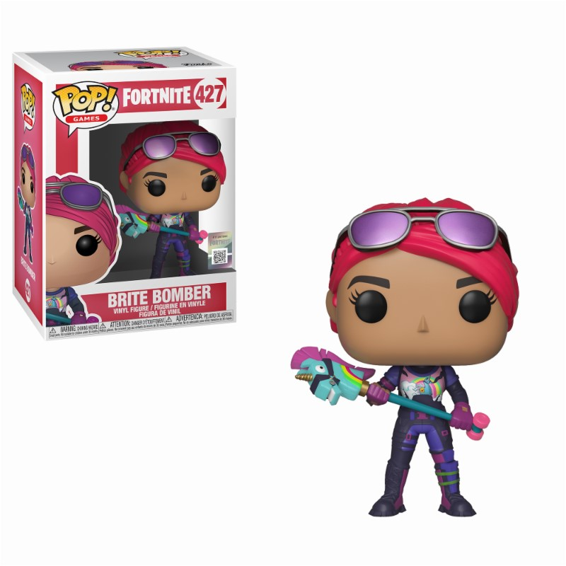 Pop! Games: Fortnite - Brite Bomber Vinyl Figure 10 cm