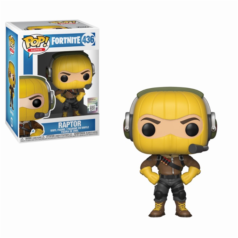 Pop! Games: Fortnite - Raptor Vinyl Figure 10 cm