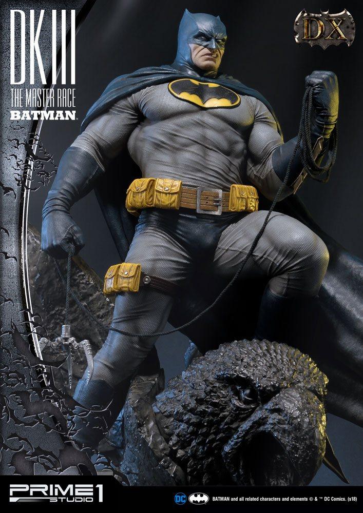 Dark Knight III The Master Race Statue 1/3 Batman Deluxe Ver. 102 cm