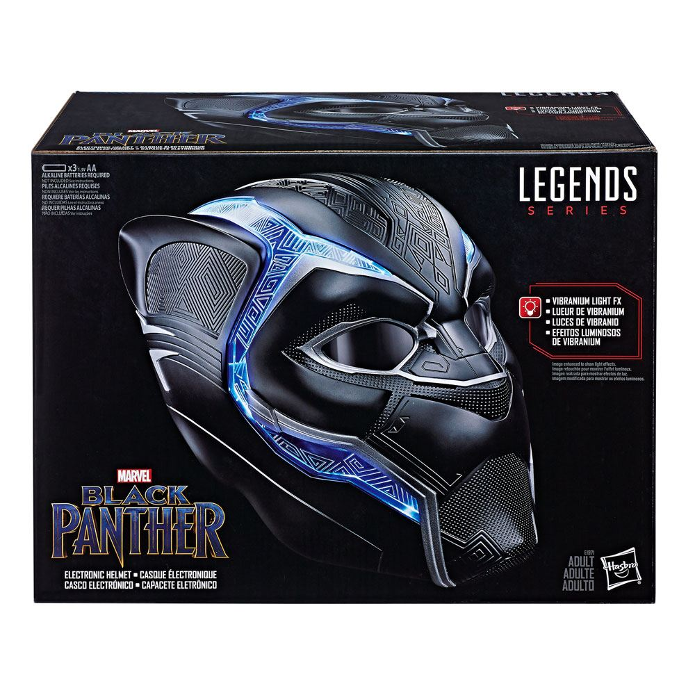 Marvel Legends Electronic Helmet Black Panther