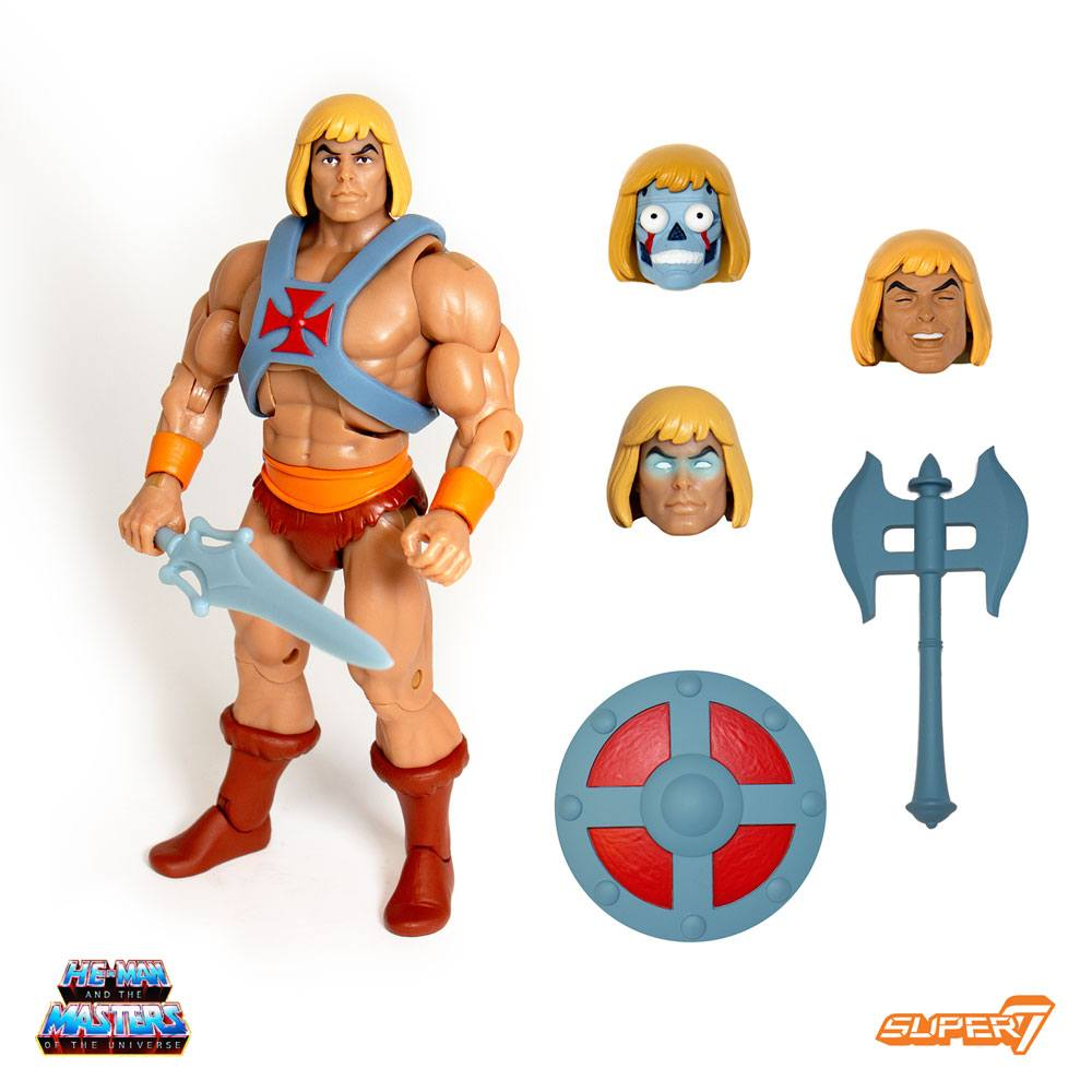 Masters of the Universe Classics AF Club Grayskull Ultimates He-Man 18 cm