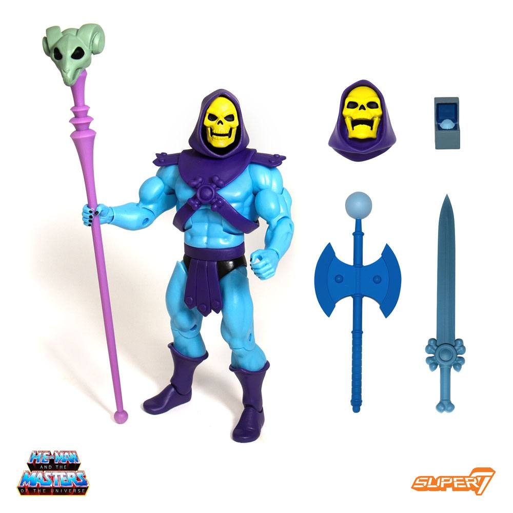 Masters of the Universe Classics AF Club Grayskull Ultimates Skeletor 18 cm