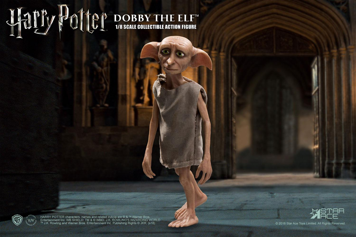 Harry Potter and the Chamber of Secrets Real Master Series Action Fig. 1/8