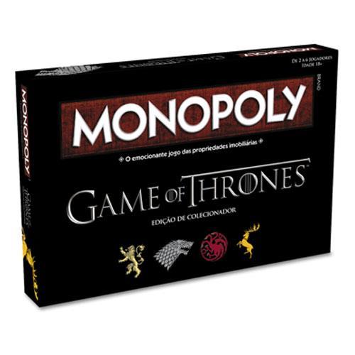 Monopoly Guerra dos Tronos (Totalmente em Português)