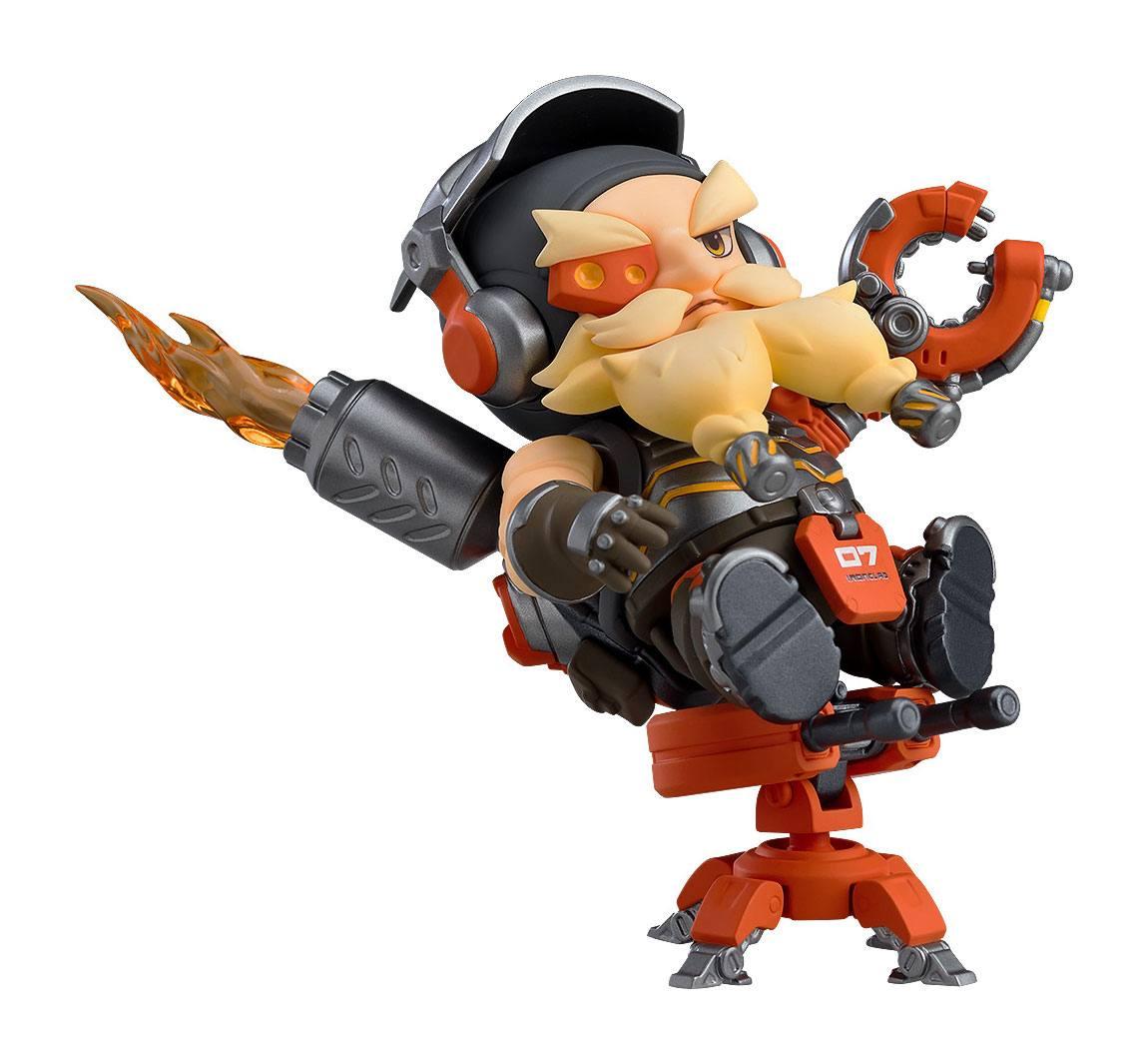 Overwatch Nendoroid Action Figure Torbjrn Classic Skin Edition 10 cm