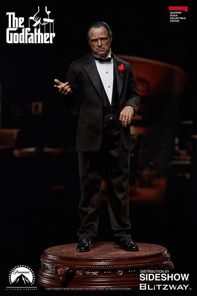 The Godfather Superb Scale Statue 1/4 Vito Corleone 46 cm