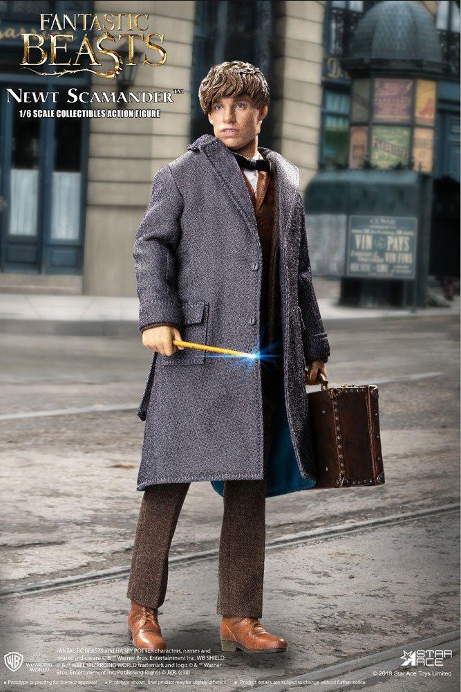 Fantastic Beasts My Favourite Movie AF 1/6 Newt Scamander Grey Coat 30 cm