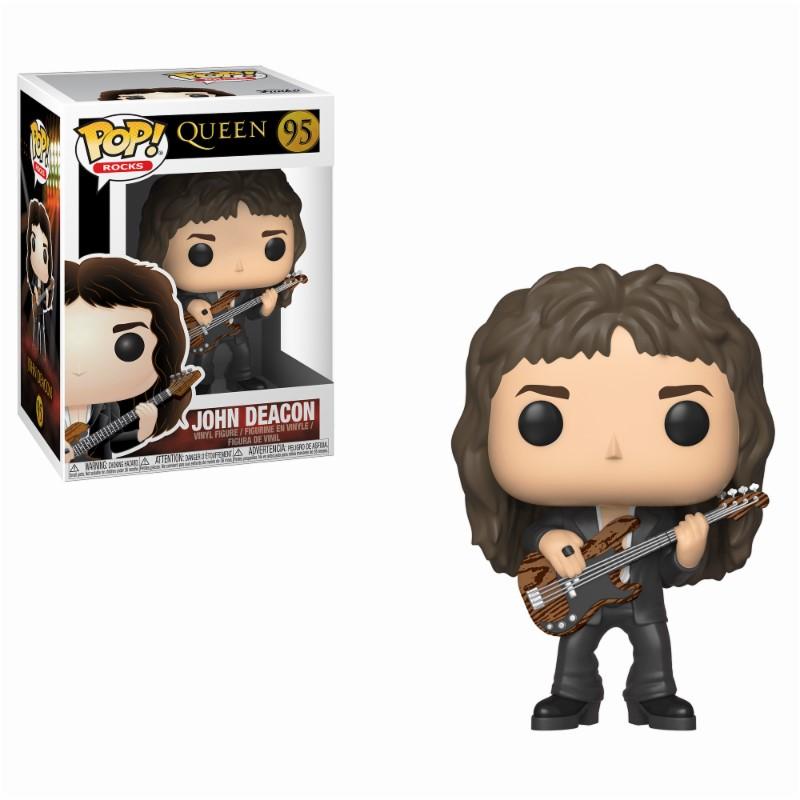 Pop! Music: Queen - John Deacon Vinyl Figure 10 cm