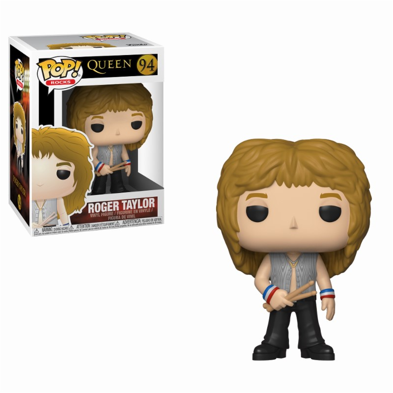 Pop! Music: Queen - Roger Taylor Vinyl Figure 10 cm