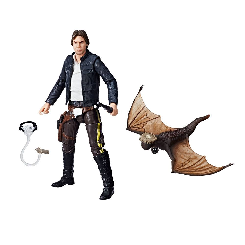 Star Wars Episode V Black Series AF 2018 Han Solo Exogorth Escape Exclusive