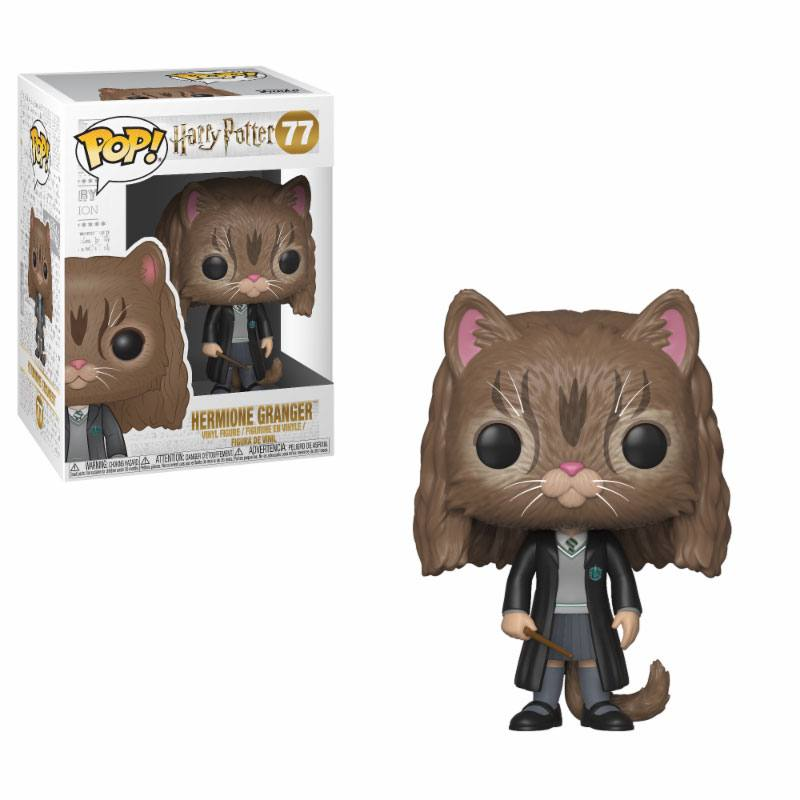 Harry Potter POP! Movies Vinyl Figure Hermione as Cat 10 cm
