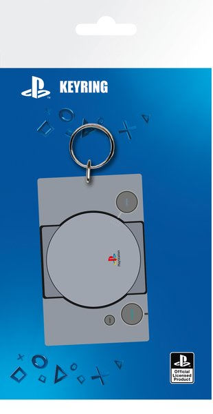 Porta-Chaves Playstation: Console Keychain