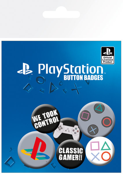 Playstation: Classic Badge Pack