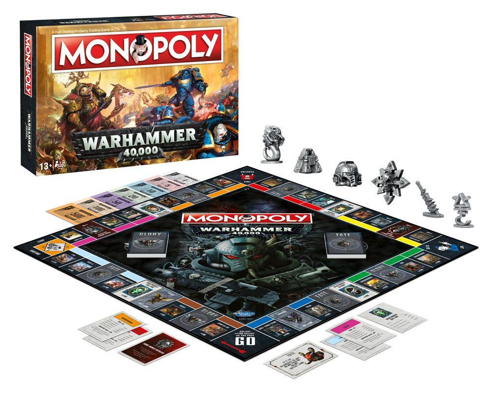 Warhammer 40,000 Board Game Monopoly *English Version*