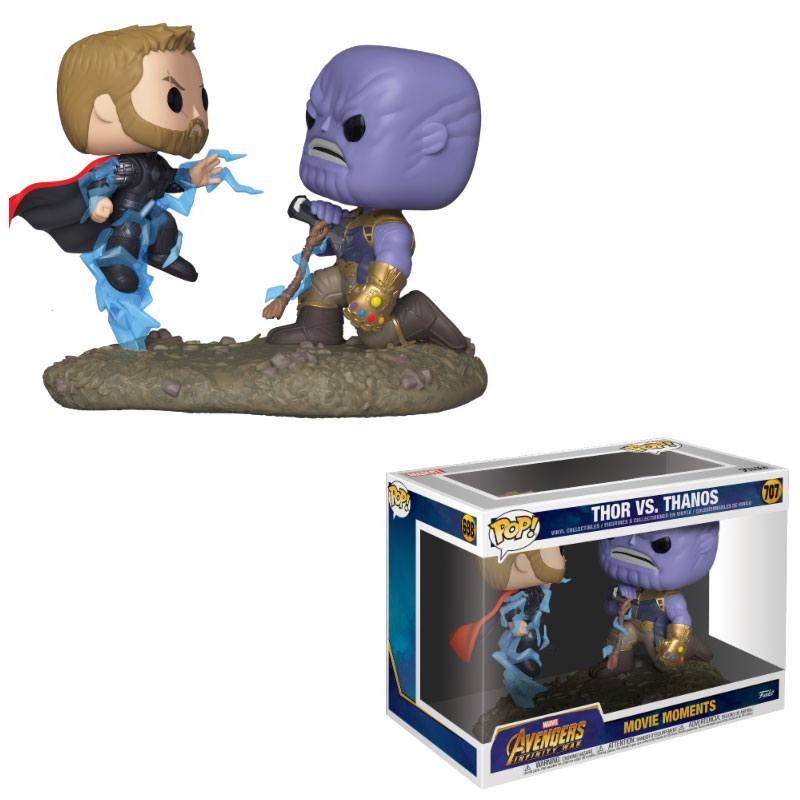 Marvel POP! Movie Moments Vinyl Figures 2-Pack Thor & Thanos 10 cm