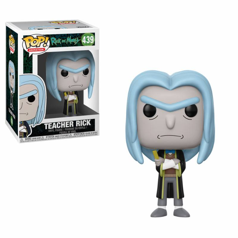 Rick and Morty POP! Animation Vinyl Figure Rick 10 cm