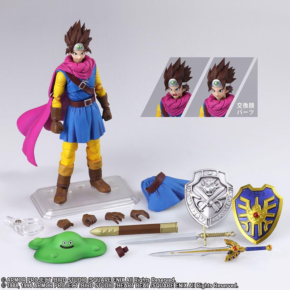 Dragon Quest III The Seeds of Salvation Bring Arts Action Figure Hero 14 cm