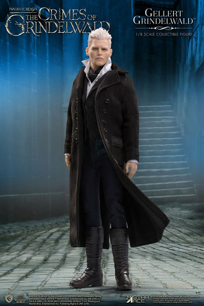 Fantastic Beasts 2 Real Master Series Action Figure 1/8 Gellert Grindelwald