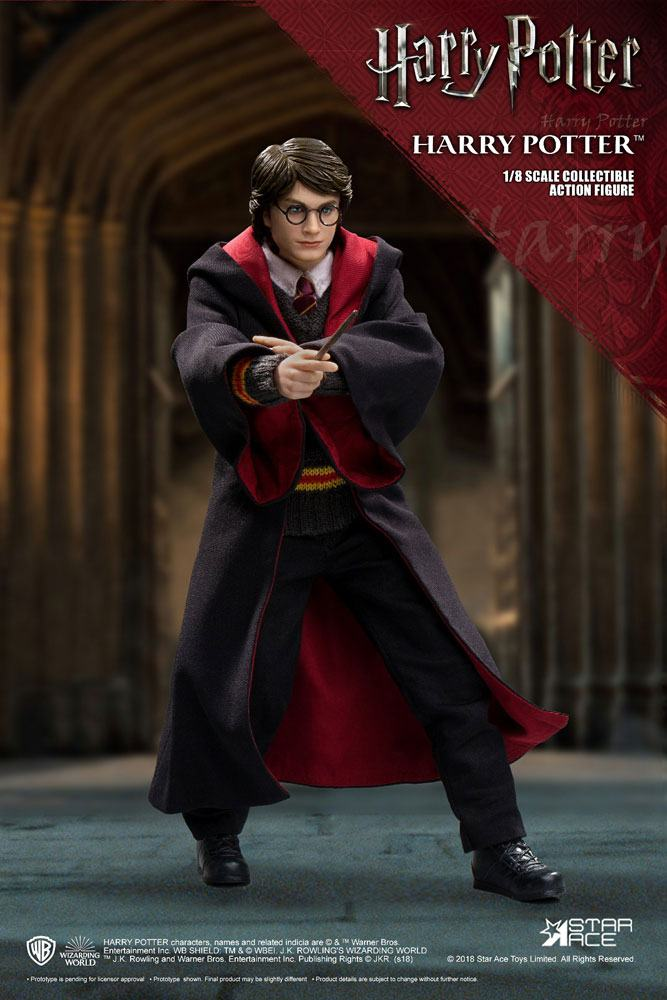 Harry Potter Real Master Series Action Figure 18 Harry