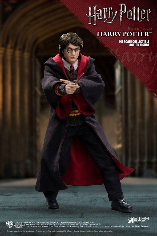 Harry Potter Real Master Series Action Figure 1/8 Harry Potter 2.0 Uniform