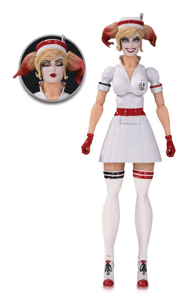 DC Bombshells Designer Series Action Figure Harley Quinn by Ant Lucia 17 cm
