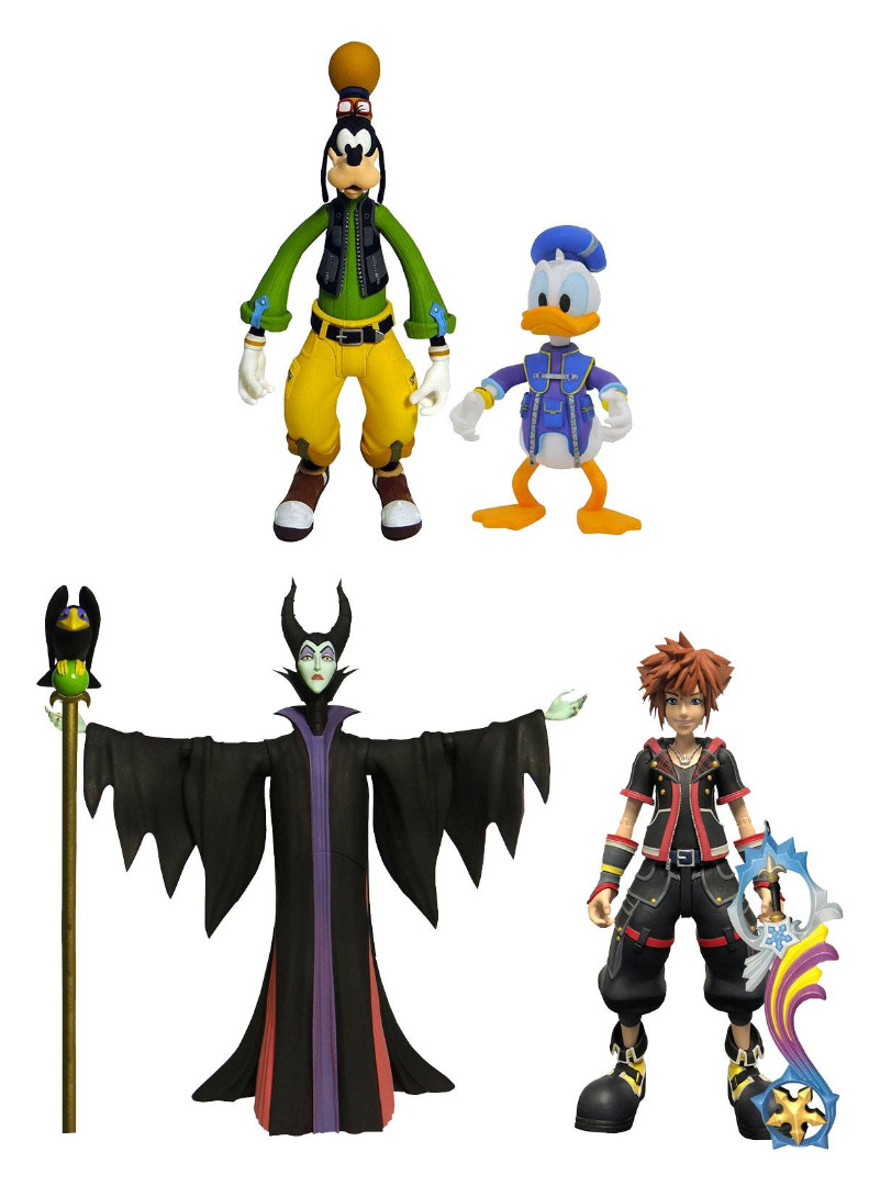 Kingdom Hearts 3 Select Action Figures 18 cm 2-Packs Series 1