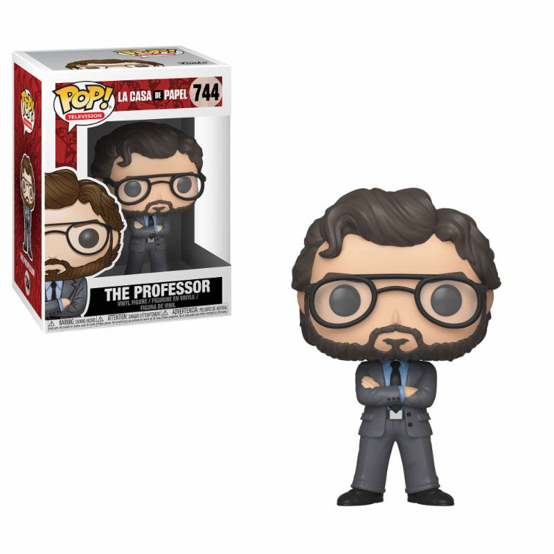 Pop! TV: Money Heist - The Professor Vinyl Figure 10 cm