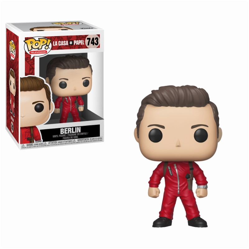 Pop! TV: Money Heist - Berlin Vinyl Figure 10 cm