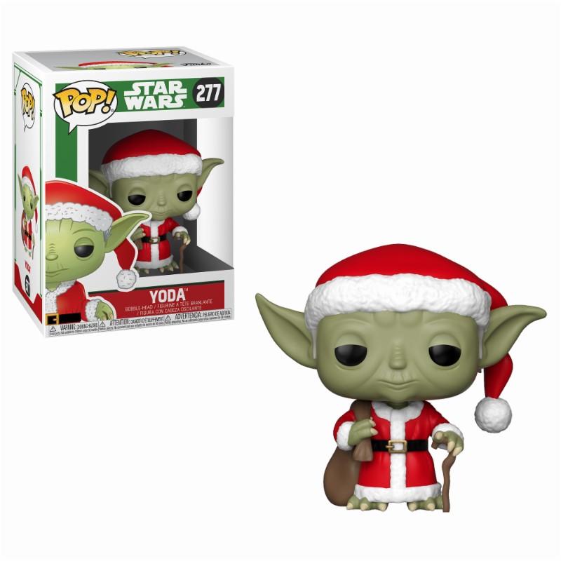 Pop! Star Wars: Holiday - Santa Yoda Vinyl Figure 10 cm