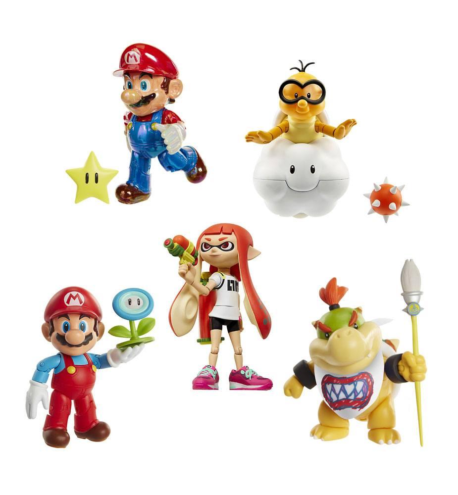 World of Nintendo Action Figures 10 cm Wave 10 Pack