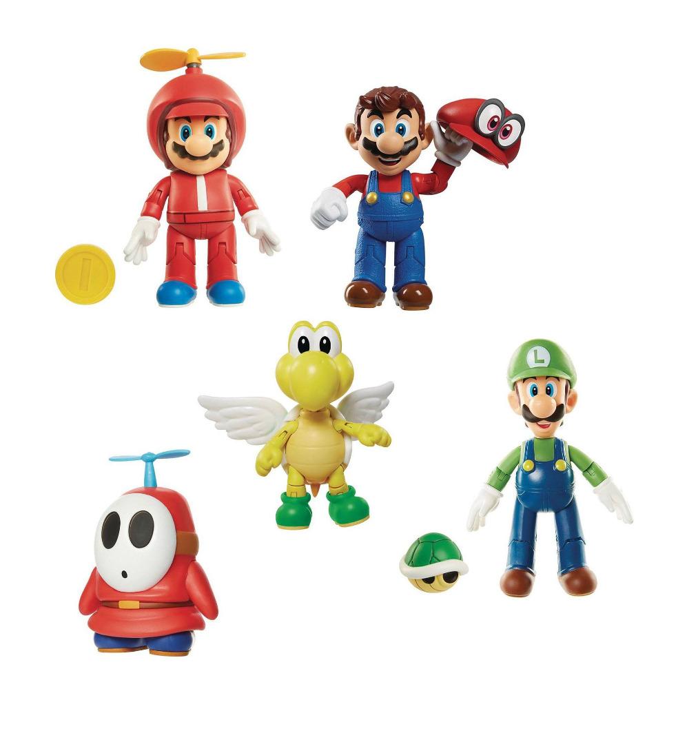 World of Nintendo Action Figures 10 cm Wave 13 Pack