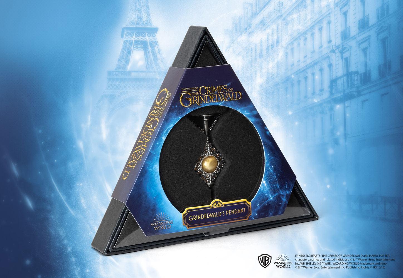 Fantastic Beasts 2 Replica Gellert Grindelwald's Pendant with Chain
