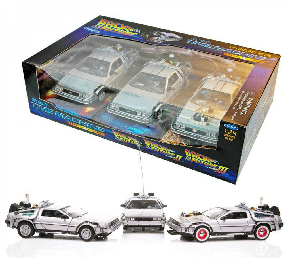 Back to the Future: Delorean Giftbox 1:24 Scale