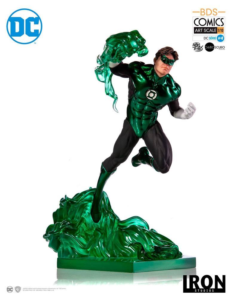 DC Comics BDS Art Scale Statue 1/10 Green Lantern by Ivan Reis 23 cm