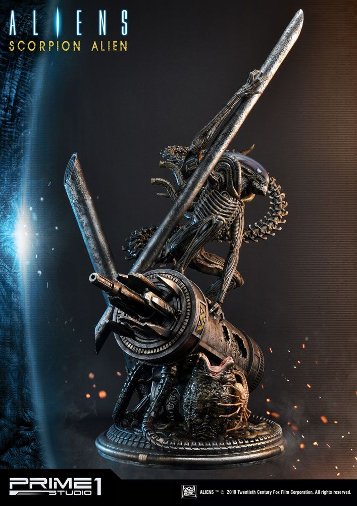 Aliens #101 Statue 1/4 Scorpion Alien 99 cm