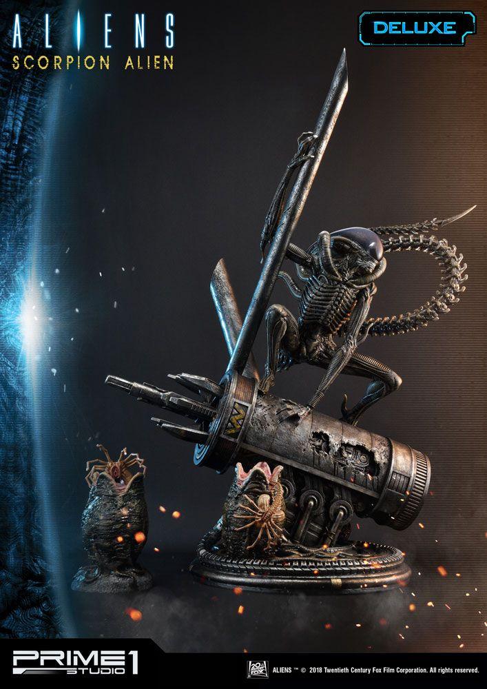 Aliens #101 Statue 1/4 Scorpion Alien Deluxe Ver. 99 cm