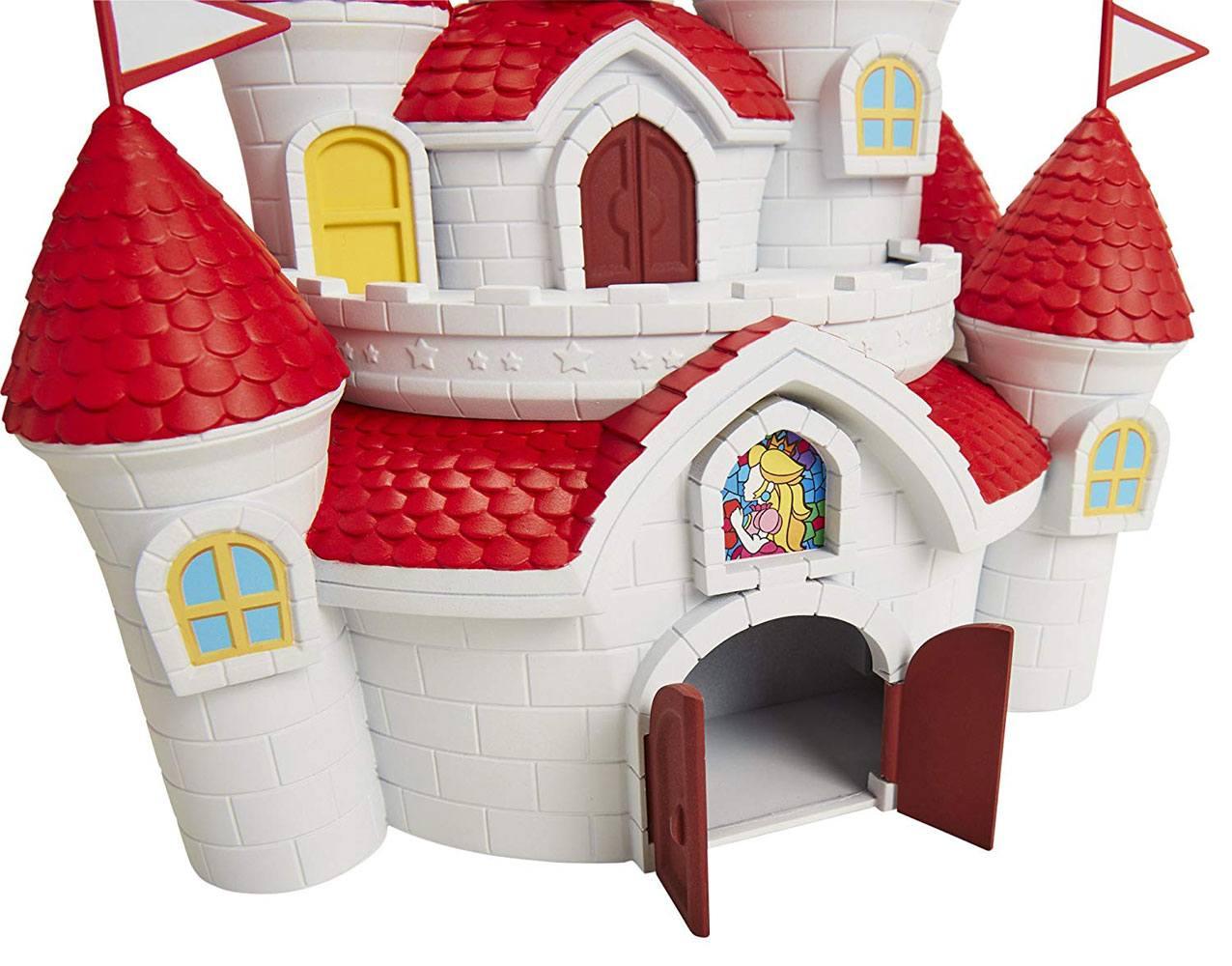 World of Nintendo Deluxe Playset Super Mario Mushroom Kingdom Castle