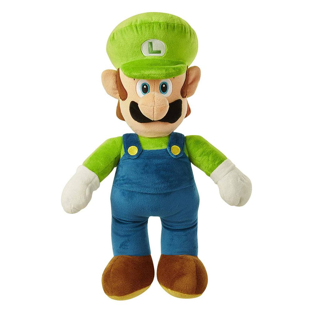 Peluche World of Nintendo Jumbo Plush Figure Luigi 50 cm