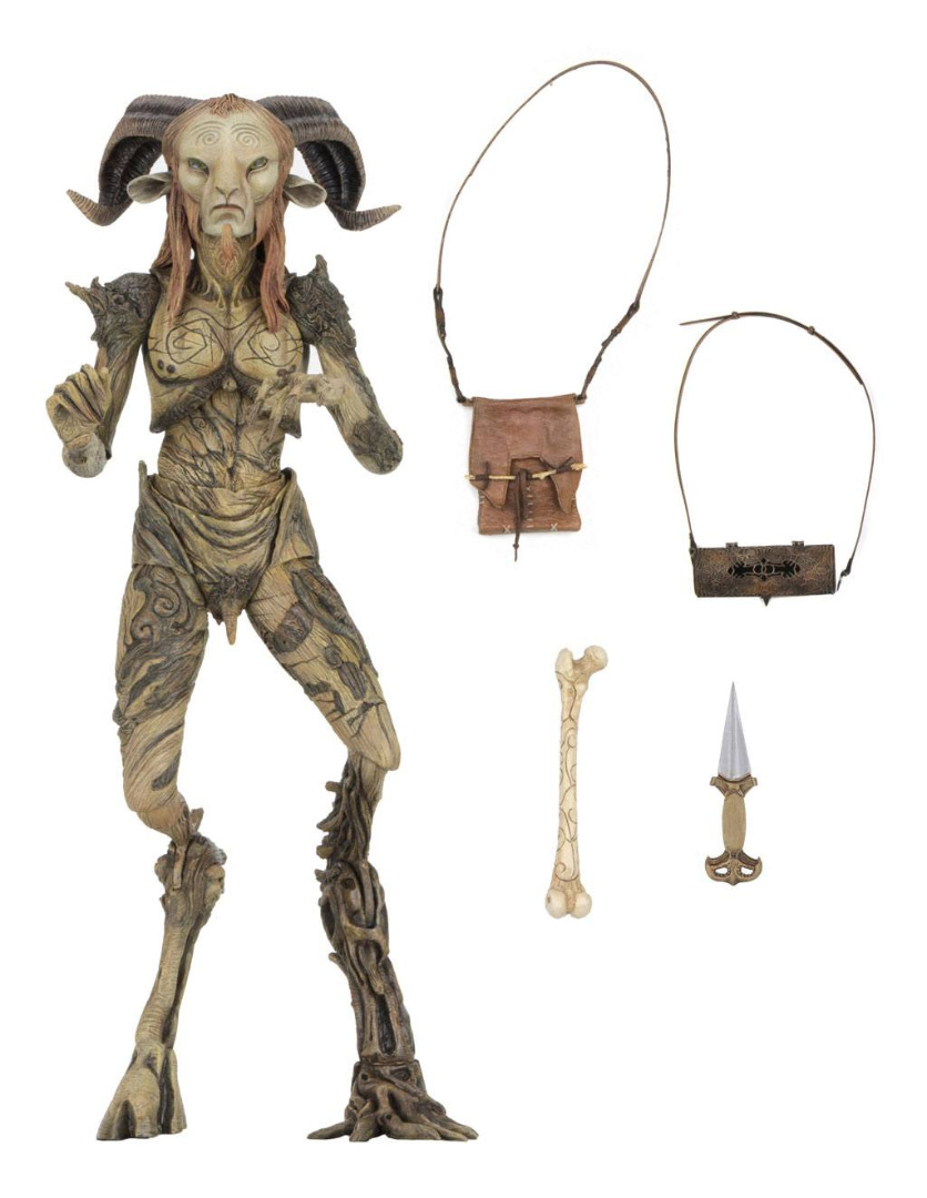 Guillermo del Toro Signature Collection AF Faun Pan's Labyrinth 23 cm