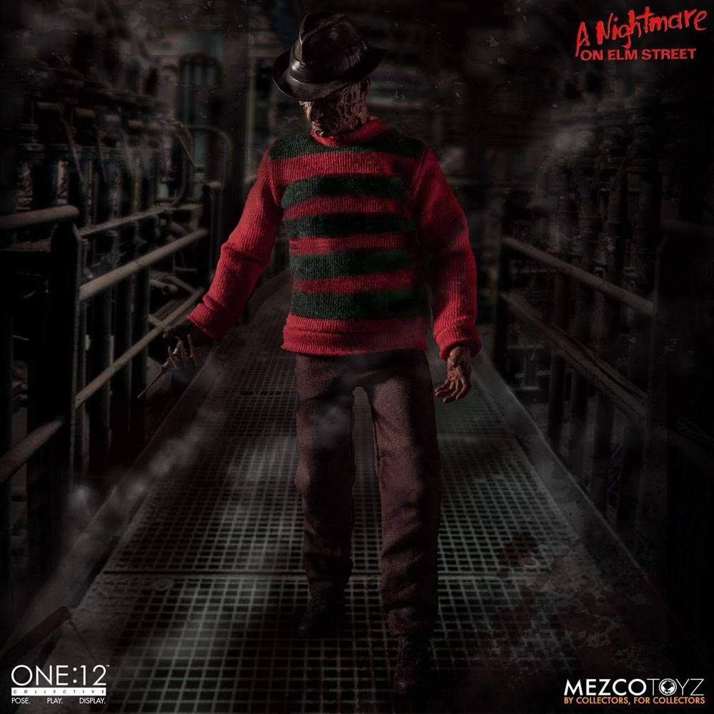 Nightmare On Elm Street Action Figure 1/12 Freddy Krueger 17 cm
