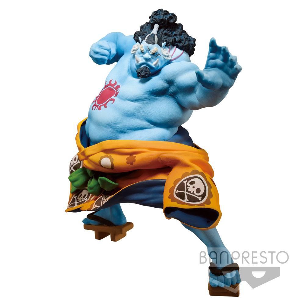 One Piece BWFC PVC Statue Jinbei Normal Color Ver. 14 cm