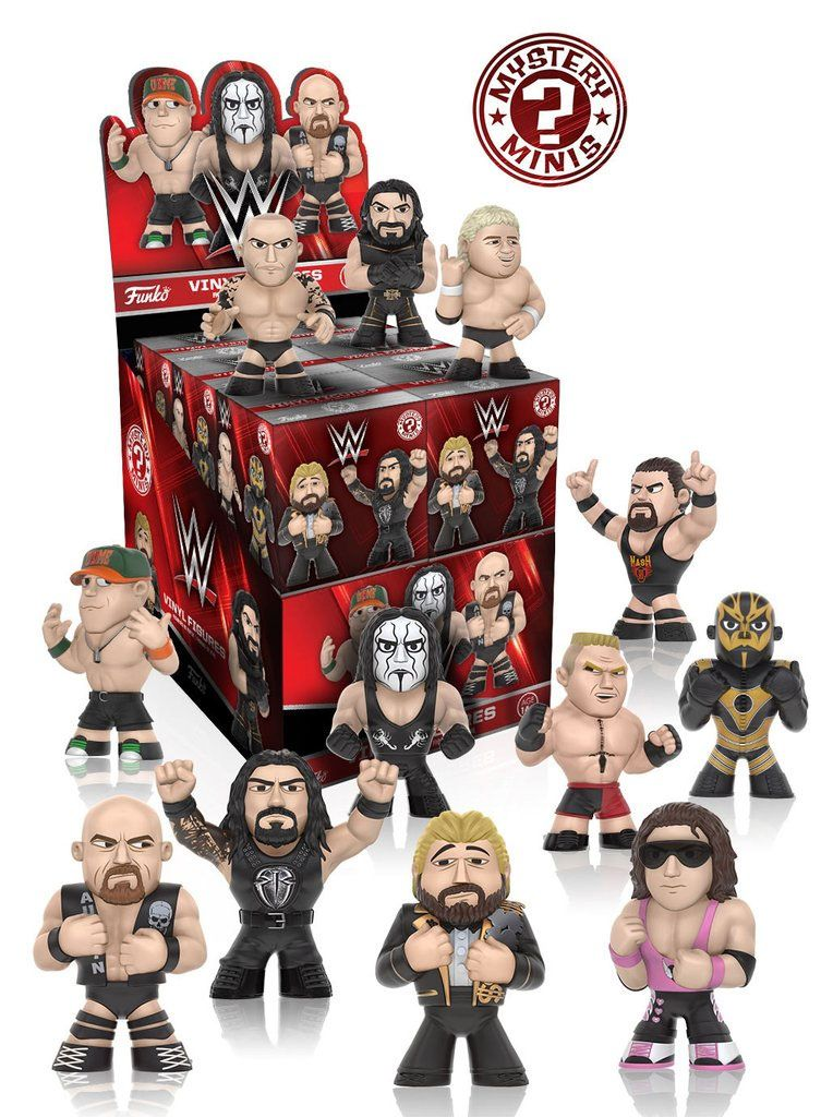 WWE Mystery Minis Vinyl Mini Figure 6 cm Series 2