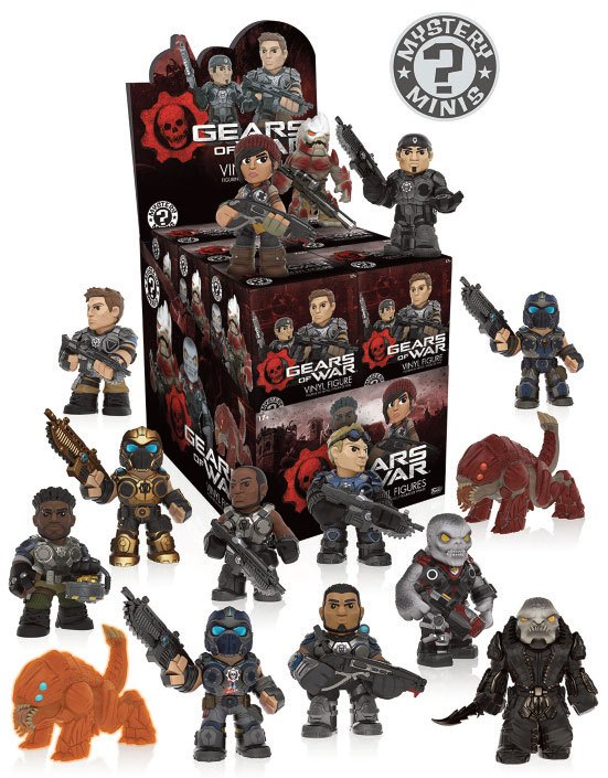 Gears of War Mystery Mini Figure 6 cm